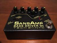 Sansamp Bass Driver - Overdrive/Distortion - Excellent Condition !