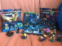 Lego Dimensions Xbox One Game with team packs.