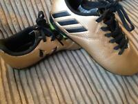 Gold Messi boots