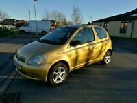 Toyota yaris 1.3 auto low milage for year