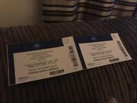 2 x Queen Tickets - Tuesday 12th December