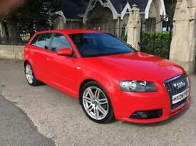 Audi A3 2.0 tdi s-line 2008 special edition 170bhp