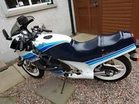 1986 suzuki rg250 gamma mk3 fill respray & wheels new tyres,breaks,forks & chain very clean bike