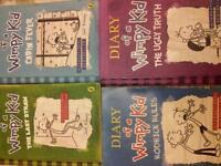 Diary of a Wimpy Kid bundle by Jeff Kinney, Children's Books 4 Books