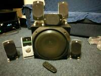 Logitech Z5500 5.1 PC Speakers + Subwoofer. 1000w, 500w rms good condition