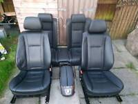 BMW 7 series E65 full leather electric seats