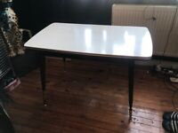 Dining table with adjustable length and height (collection only)