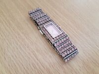 Original D&G All Round Pink Colour Stones women's watch