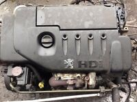 2003 peugeot 1.4 hdi engine 88000 miles complete with ancillaries