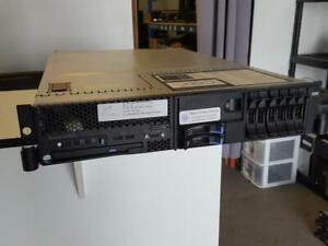 IBM System X3650 - 2x Xeon E5430 2.66Ghz - 48 Go ram 2x 146 Go HDD SAS - 2x 700Watt PSU