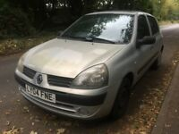 2004 Renault Clio 5Dr Hatchback 1.2 Petrol **NEW 1 YEAR MOT**