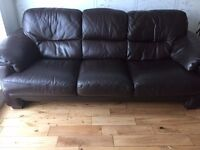2 Seater & 3 Seater Leather Sofas