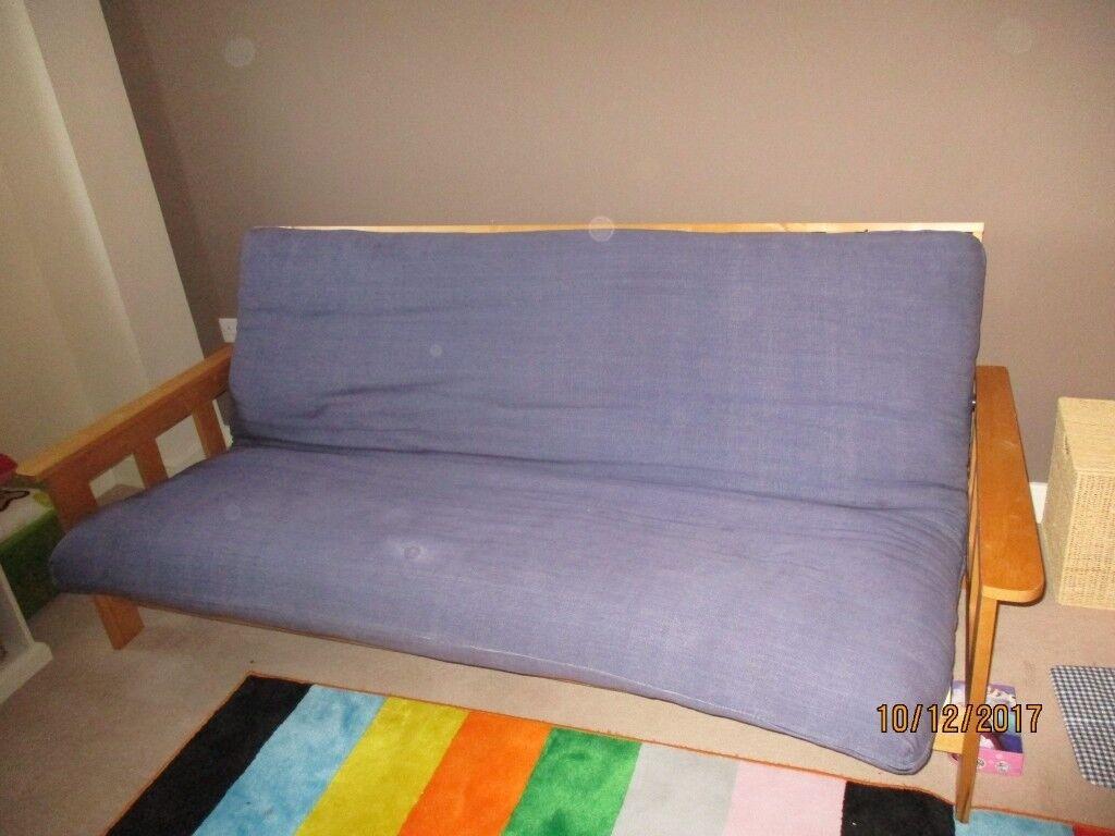 FUTON COMPANY 3 SEATER SOFA BED, FUTON IN