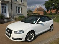 2011 Audi A3 1.2 Convertible 18k Low Miles HPI Clear Cabriolet Sport Petrol Manual FSH - Bargain