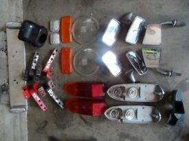 MGB Parts (Seats, Lights, Windows, Glass, Hinges, etc.)