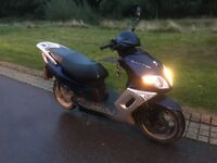 Peugeot sum up 125cc long mot been recentlyserviced, well looked after bike used to commute to work.