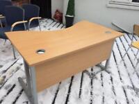 Office desk maple/beeh