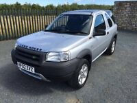 2002 02 LAND ROVER FREELANDER 2.0 TD4 SERENGETI *DIESEL* 4x4 - LOVELY CONDITION!