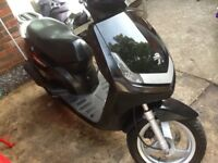 Peugeot Vivacity 50cc 2011 (11) Scooter Good Condition Runs Good Nice Bike