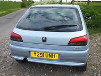 BOOT - FROM PEUGEOT 306 MERIDIAN 2001 HATCHBACK (COMPLETE)