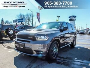 2018 Dodge Durango R/T AWD, SUNROOF, BACKUP CAM, REMOTE START