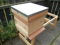1 National Bee Hive, Cedar wood, Assembled. ( Seconds )