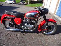 BSA A10 650cc motorcycle