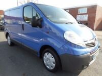 NO VAT!! Vauxhall vivaro 2.0ltdi swb panel van with full main dealer history and full mot october 18