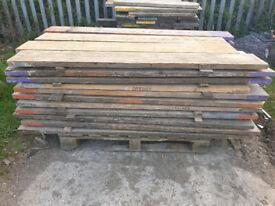 Reclaimed Wooden Scaffold Boards 3ft 4ft 6ft 7ft, 12ft Decking