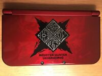 Monster Hunter Generations Limited Edition 3DS XL + 3 Games