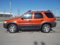 2006 FORD ESCAPE XLT 4 DR 4WD LEATHER LOADED-REALLY NICE SUV!!!!