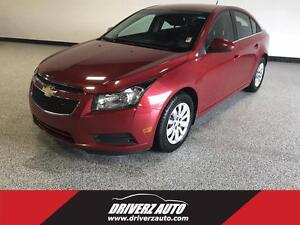 2011 Chevrolet Cruze LT Turbo TURBO, BLUETOOTH, SPACIOUS