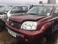 2004 Nissan X-Trail, 2.2 Diesel, Breaking for parts only, All parts available