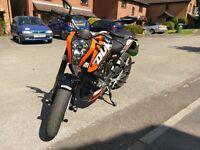 Ktm Duke 125 Orange For sale