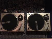Gemini Xl-500 II Direct drive Turntables x2 + Stanton 500 cartridges x2 + all cables