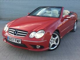2007 MERCEDES CL280 SPORT, 3.0 ENGINE, AUTOMATIC, RARE COLOUR WITH FULL HISTORY.