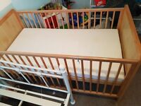 Mothercare cot bed great condition