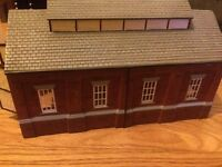 Hornby trains engine shed
