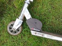 Various Kids Scooters x 2 Razor in Good Condition