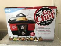 Brand new Go Chef 8-in-1 Non-Stick Multi Functional Cooker