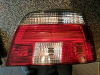 E39 rear lights