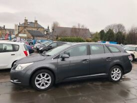 BEAUTIFUL ESTATE 2009 TOYOTA AVENSIS MOT 31 JAN 19 SERVICE HISTORY