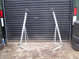 2 Boat storage props ( legs supports stands ) 4` price for the pair