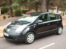 NISSAN NOTE,1400CC,5DOOR.PETROL,2007