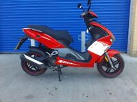 2015 LEXMOTO DIABLO 125 SPORT SCOOTER , AS NEW CONDITION VERY LOW MILES