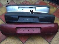 Mk4 fiesta rear bumpers red black silver £20 each