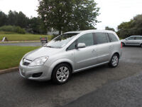 VAUXHALL ZAFIRA 1.7 CDTI DIESEL ELITE TOP OF THE RANGE 7 SEATER 2011 BARGAIN £3450 *LOOK*PX/DELIVERY