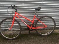 Apollo mountain bike 10 gears 16 inch frame 26 inch wheels