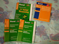 Bond 11+ books