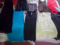 Collection of Ladies Clothes - party dresses, suits etc. Sizes 8 & 10 - approx £5 each.